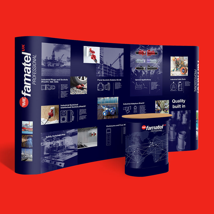 Famatel Exhibition Panel